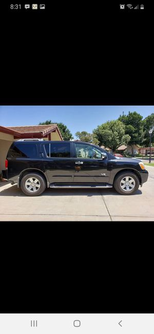 Nissan armada 2005 for Sale in Visalia, CA