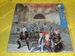 The Exploited - Troops of Tomorrow vinyl record album punk rock for Sale in Downey, CA