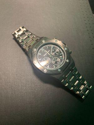 Royal oak stainless steel watch for Sale in Portland, OR