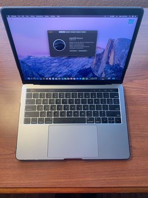 Apple Mac Book Pro Touch Bar (Intel Core i5 3.8 GHz, 512GB, 8GB RAM) + Apple Care 3 years for Sale in Des Moines, IA