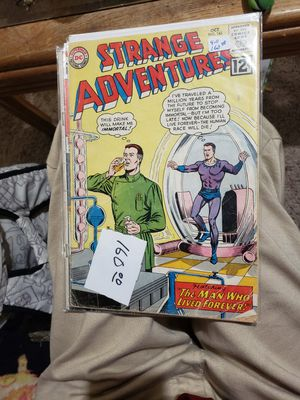 Strange Adventures featuring the man who lived forever.! for Sale in Wenatchee, WA