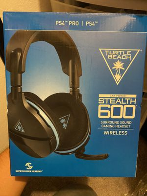 Turtle Beach Stealth 600 Gaming Headset PS4/PS4 Pro for Sale in La Habra, CA