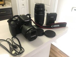 Canon EOS Rebel T-5 With Two Lenses for Sale in Alexandria, VA