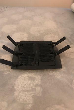 NETGEAR (R8000-100NAS) Nighthawk X6 AC3200 Tri-Band WiFi Router, Gigabit Ethernet, Compatible with Amazon Echo/Alexa for Sale in Washington, DC