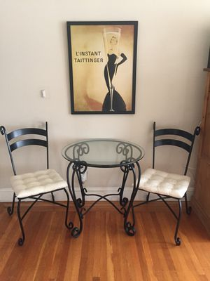 Pier 1 Wrought Iron/ Glass Tables for Sale in San Francisco, CA
