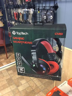Toptech Gaming headphones for Sale in Garland, TX