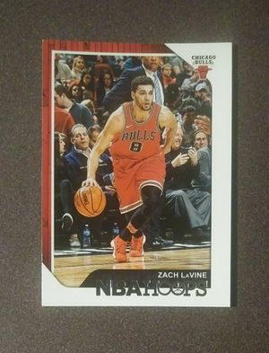 2018-19 Panini Zach LaVine Chicago Bulls #164 NBA Hoops Basketball Card Collectible Sports for Sale in Salem, OH