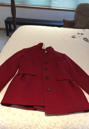 Banana republic red wool peacoat for Sale in Gold River, CA