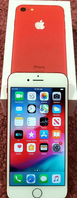 iPhone 7 128GB, Red, Factory Unlocked, Excellent Condition! for Sale in Morton Grove, IL
