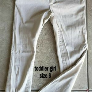 Girl khaki pants size 6 for Sale in Monrovia, CA