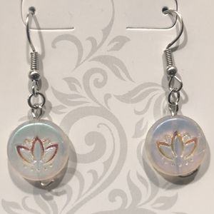 Lotus Flower Stylish Yoga Earrings!!! (Handcrafted) for Sale in Vancouver, WA