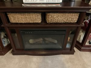 Electric fireplace/tv stand for Sale in Norfolk, VA