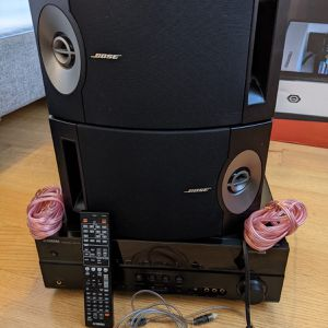 Full Set Bose speakers and Yamaha Sound Audio Receiver for Sale in Washington, DC