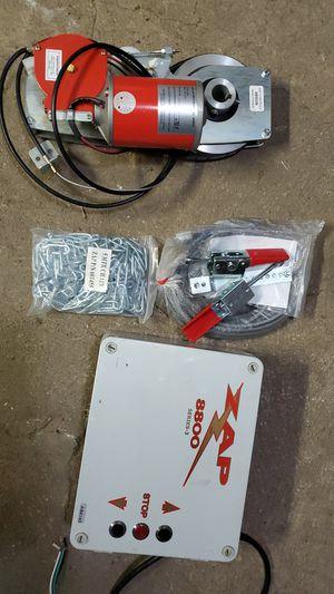 Garage door operator for 2 car garage or single..or commercial doors.. for Sale in Dallas, TX