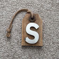 Door Hanger Letter S for Sale in Fairfax,  VA