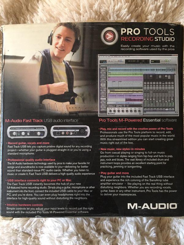 Pro Tools Recording Studio