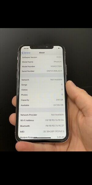 IPhone X/256GB for Sale in Charlotte, NC