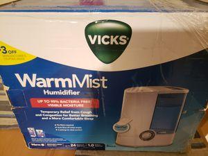 Vicks Humidifier for Sale in Douglasville, GA