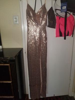 Gold dress for Sale in BROOKSIDE VL, TX