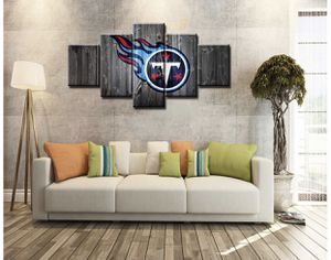 NEW Tennessee Titans Pictures Canvas Poster Living Room Decor Sports Football Home Decoration Prints Framed Painting Ready to Hang(60''Wx32''H) for Sale in Goodlettsville, TN