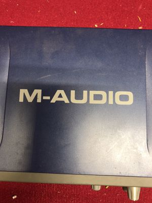M audio fast track Pro audio interface for Sale in Baltimore, MD