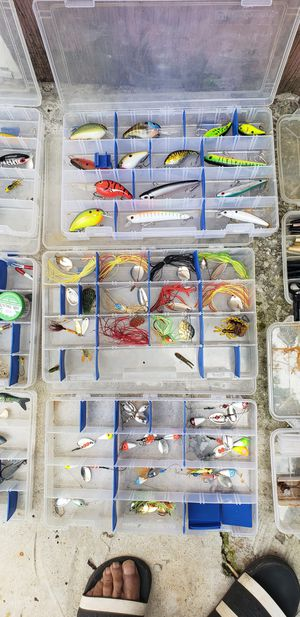 Over 100 Fishing lures for Sale in Cleveland, OH