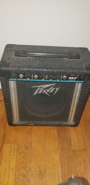 Pevey Solo amp for Sale in Fort Worth, TX