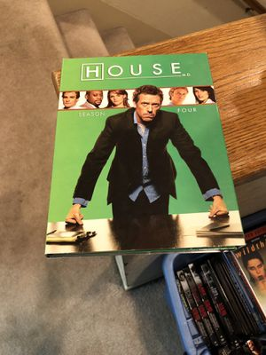 House M.D. Season 4 Four Box Set S4 Tv Series the Complete Fourth for Sale in Buena Park, CA