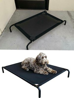 New in box M Medium raised dog pet cot bed 42x25x6 inches tall for pets up to 70 lbs capacity elevated cuna de perro for Sale in South El Monte, CA