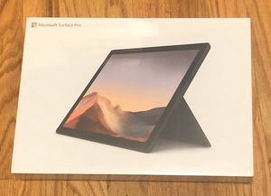 Brandnew Microsoft Surface Pro 7 (10th gen intel core i7) for Sale in West New York, NJ