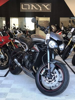 2018 Triumph Street Triple 765 RS for Sale in San Diego, CA