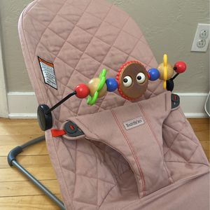 Baby Bjorn Bouncer and Attachment Pink for Sale in Whiskeytown, CA