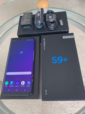 Samsung Galaxy S9Plus unlock 64GB CoralBlue for Sale in Glenview, IL