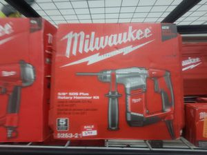 Milwaukee rotary hammer drill for Sale in Fresno, CA