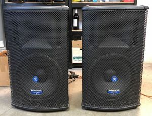 Mackie SA1521 Powered PA Speakers for Sale in Gresham, OR