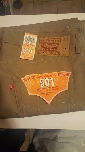 Levis 501 Sizes 46x30 42x30 40x30 New. for Sale in Hemet, CA