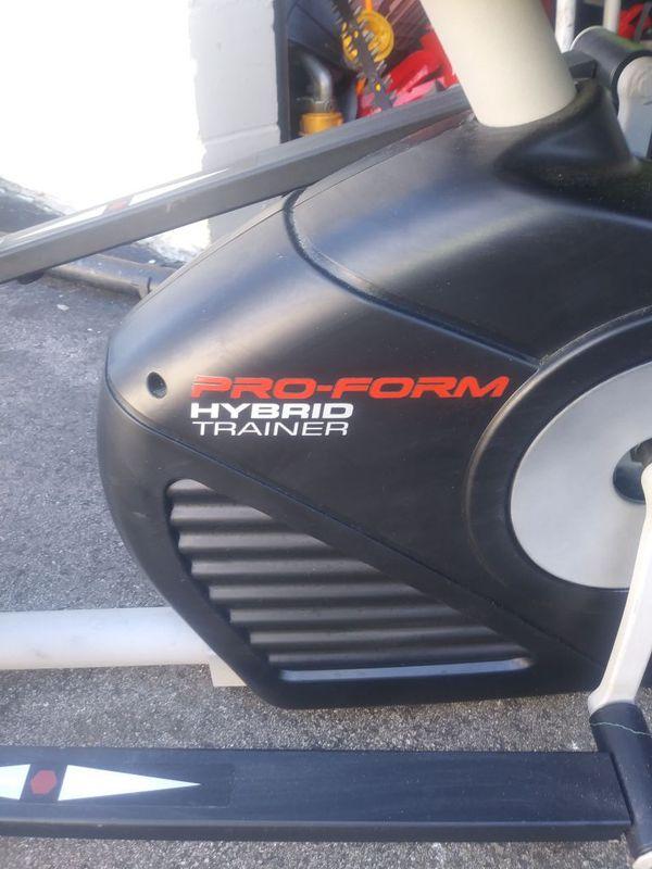 Proform hybrid 2 in 1