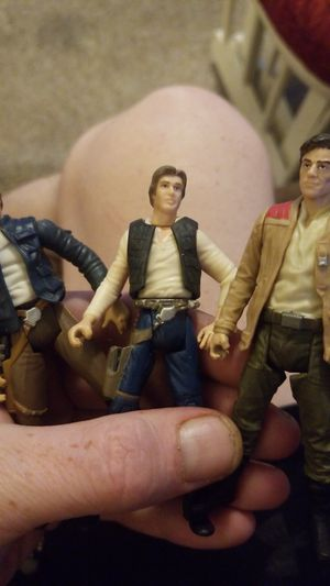Han solo action figures for Sale in Gilbert, AZ