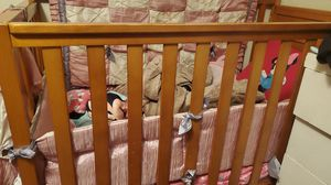 Baby/toddler/full bed with changing table&2drawers for Sale in Baldwin Park, CA