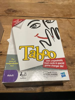 Taboo board game for Sale in Ellicott City, MD