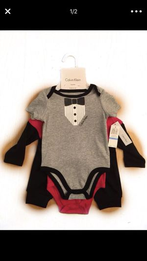 Authentic luxury baby Clothes CALVIN KLEIN for Sale in Jersey City, NJ