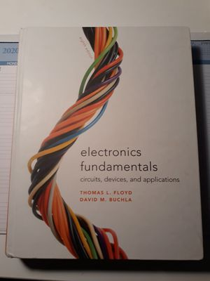 Electronics fundamentals college textbook for Sale in Gray Court, SC