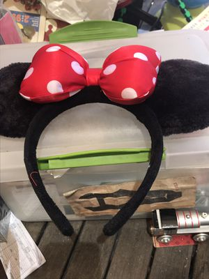 Minnie Mouse ears from Disney land for Sale in Oceanside, CA
