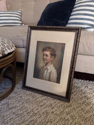 "Custom framed print ""Richard"" for Sale in Spokane, WA"