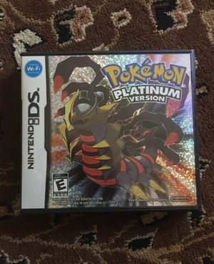 Pokemon platinum version for Sale in Ashland, OR