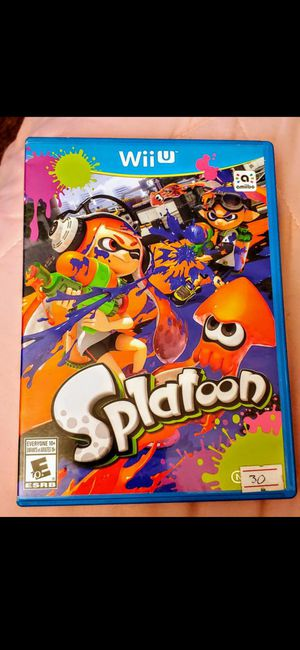 NINTENDO Wii U SPLATOON 100%💥💥 for Sale in Escondido, CA