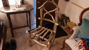 Driftwood chair, sturdy for Sale in Medford, OR