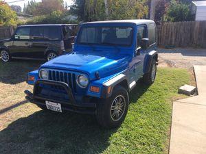 2003 Jeep Wrangler TJ for Sale in North Highlands, CA