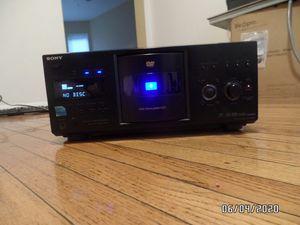 Sony DVP-CX995V 400-Disc DVD Changer - Black for Sale in Chicago, IL