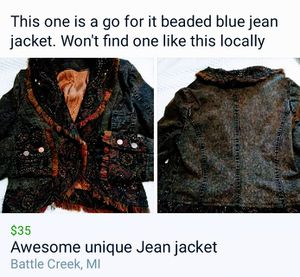 Awesome jackets for Sale in Battle Creek, MI